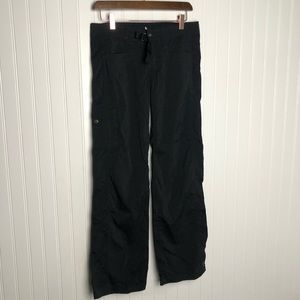Prana athletic black hiking pants